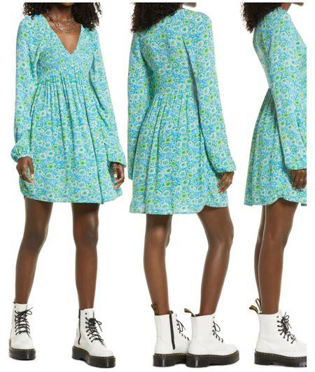 Nordstrom Sale Babydoll Mini Dress  #LTKsalealert #LTKunder50 #LTKunder100
