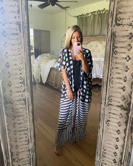 Amazon black and white coverup! @liketoknow.it Shop my daily looks by following me on the LIKEtoKNOW.it shopping app http://liketk.it/3jOPR #liketkit #LTKstyletip #LTKunder50 #LTKsalealert