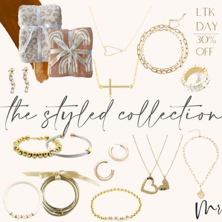 http://liketk.it/3hkAT #liketkit @liketoknow.it #LTKDay #LTKsalealert #LTKunder50 Shop the styled collection at 30% off #ltkday #thestyledcollection #summerjewelry #barefootdreamsdupe #bracelets