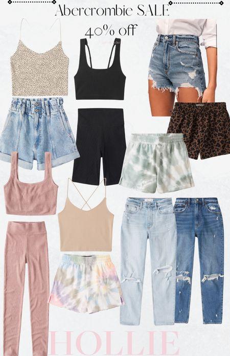 Abercrombie Sale! 40-50% off denim, shorts and more!   #LTKunder100 #LTKunder50