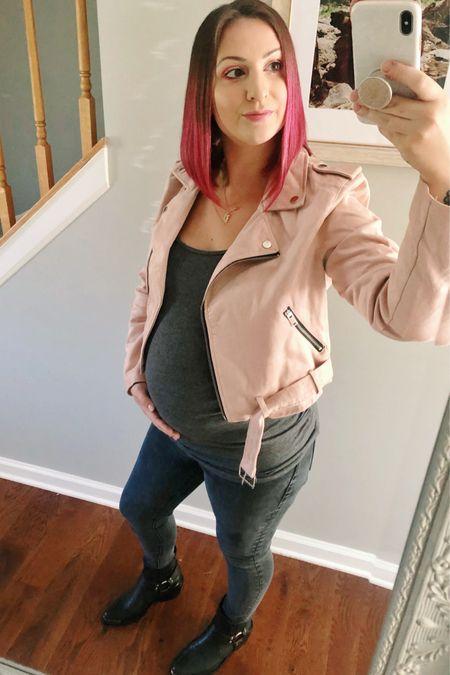 Size up in the jacket! Runs small ✨   #LTKunder50 #LTKbump #LTKstyletip