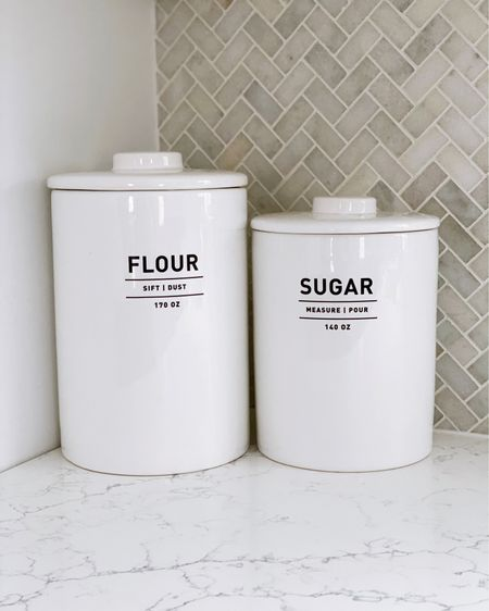 Loving this flour and sugar canister from #westelm @liketoknow.it #liketkit http://liketk.it/37O2m