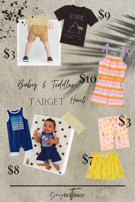 New cuties from my recent target kids clothing haul.   #LTKbaby #LTKfamily #LTKkids