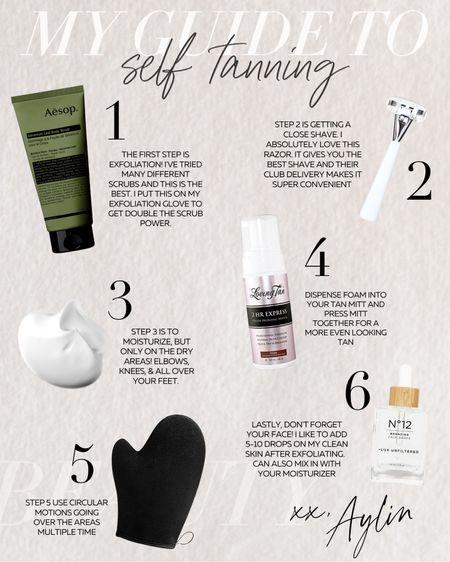 Self tanning, self tanning products, beauty products, StylinbyAylin   #LTKunder100 #LTKstyletip #LTKbeauty