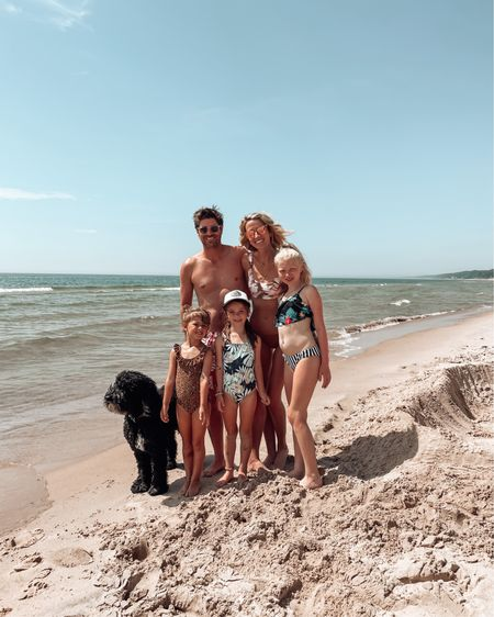 """I take a lot of photos. I'm sure that surprises 0% of you guys 😂  but I'm 3/5 getting family photos on our trips. We are halfway through our beach trip, and I already got our family photo! This has to be a new family vacation record!   You can scroll through >> to see a little trip down memory lane of our summer beach weeks through the last 5 years (including all the """"almost the whole family"""" in the pics 😂😂 and the one where it's just Addy's leg 😂)   http://liketk.it/3hVOd #liketkit @liketoknow.it #LTKtravel #LTKswim #LTKfamily"""