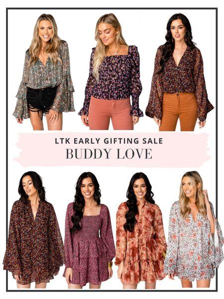 Last day to shop the LTK Early Gifting Sale - 25% off our favorite dresses and fall apparel at Buddy Love   #LTKSale #LTKGiftGuide #LTKsalealert