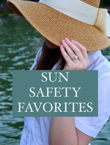 Favorite sun safety products for the whole fam!  #LTKbeauty #LTKswim #LTKfamily