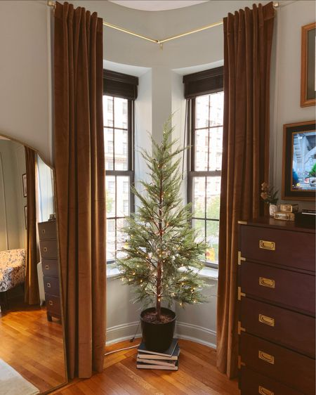 Christmas tree for our main bedroom!   #LTKHoliday #LTKhome