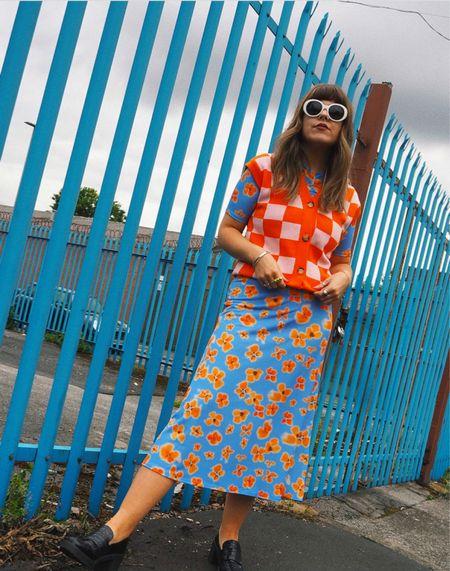 Never too many prints 🧡💙  #LTKeurope #LTKstyletip #LTKunder50