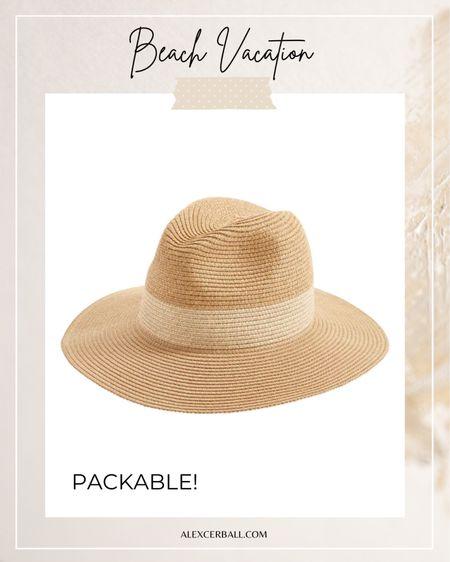 Packable sun hats for women http://liketk.it/3fwNb #liketkit @liketoknow.it #LTKstyletip