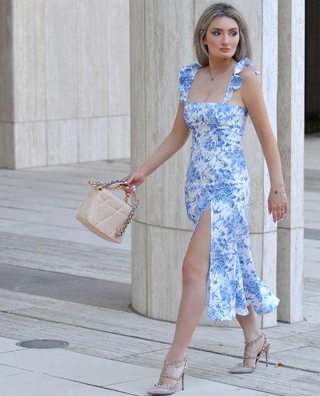Late summer dress!  #LTKshoecrush #LTKitbag #LTKSeasonal