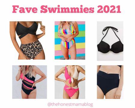My five fave swimsuits for summer 2021 #swimwear #swimsuits #summer2021 http://liketk.it/3jnpk #liketkit @liketoknow.it