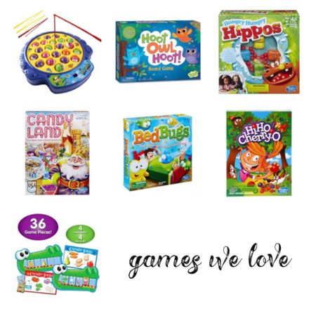 Kids games we are loving right now. Ages 2 1/2 - 4ish. http://liketk.it/2SWBf #liketkit @liketoknow.it #LTKfamily #LTKkids @liketoknow.it.family