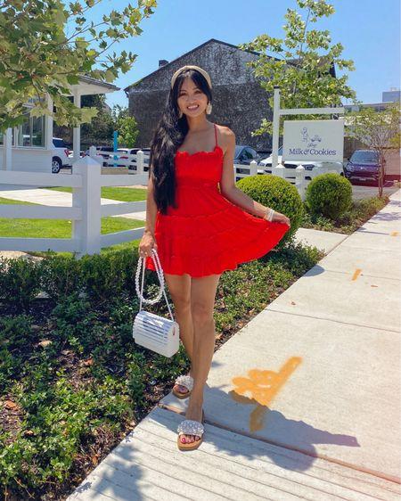 Red dress http://liketk.it/3hNai  #liketkit @liketoknow.it #LTKunder50 #LTKstyletip #LTKtravel