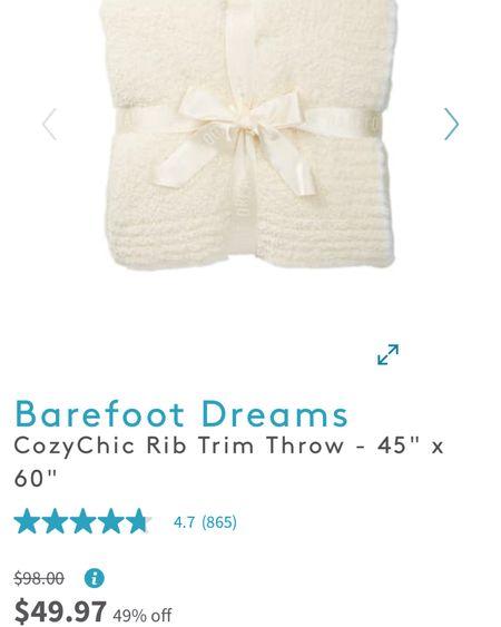 Barefoot Dreams sale http://liketk.it/34Bku #liketkit @liketoknow.it #LTKhome #LTKsalealert #StayHomeWithLTK #barefootdreams