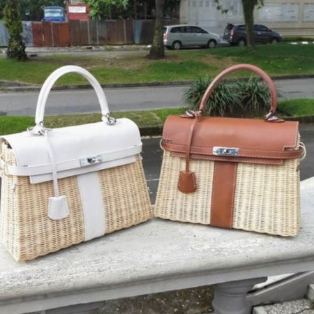How beautiful are these handmade wicker bags? They look high end designer fit a fraction of the price http://liketk.it/3jYg7 #liketkit @liketoknow.it   #LTKitbag #LTKstyletip