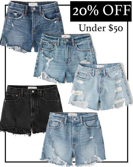 Abercrombie jeans shorts on sale #liketkit http://liketk.it/3hr5D @liketoknow.it #LTKsalealert #LTKunder50
