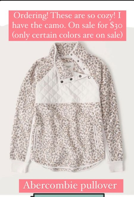 Abercrombie jacket on sale for $30   #LTKSeasonal #LTKsalealert #LTKunder50