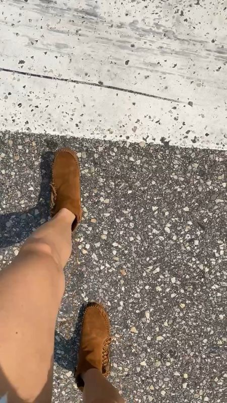 Country chic in the city. Slip on moccasins instead of sneakers.  #LTKstyletip #LTKunder50 #LTKshoecrush