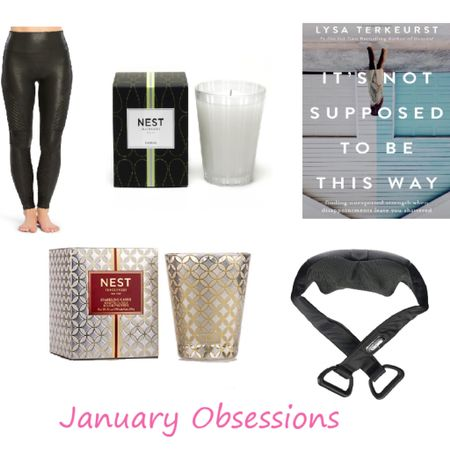 My latest obsessions linked below - including Spanx leggings, nest candles, the BEST massager & more!!  Read all about them at www.kimswarner.com 💗  Screenshot this pic to get shoppable product details with the LIKEtoKNOW.it app http://liketk.it/2zoif #liketkit @liketoknow.it #LTKunder100 #LTKunder50