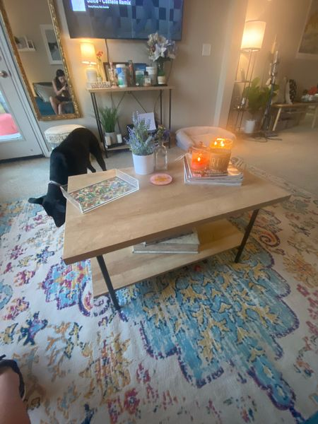 Love my coffee table! Gives me all the modern farmhouse vibes 😍  #LTKSeasonal #LTKstyletip #LTKhome