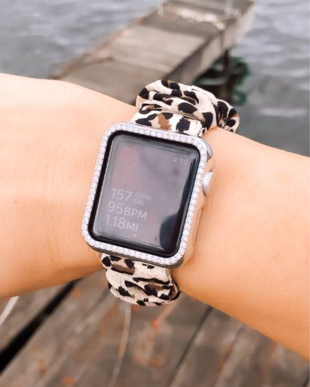 http://liketk.it/3e2h7 #liketkit @liketoknow.it #LTKfit #LTKunder50 #LTKstyletip love this scrunchy Apple Watch band, runs small   Fit, fitness, workout,