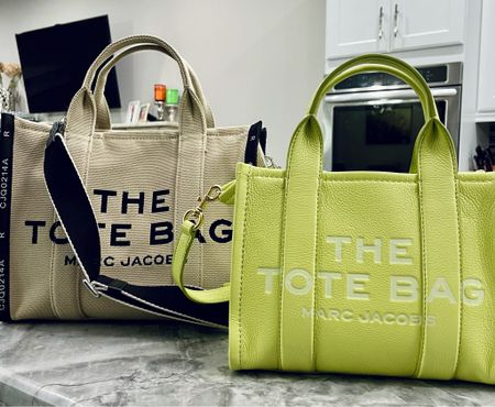 These 2 bags have been the ones that I get the most questions on over the past couple of months! Today I'm giving my updated thoughts on these two bags including wear & tear, what fits, and if they are worth the money! Check it out today on my YouTube channel!  #marcjacobstote #marcjacobsthetotebag #thetotebag #simplyayesha