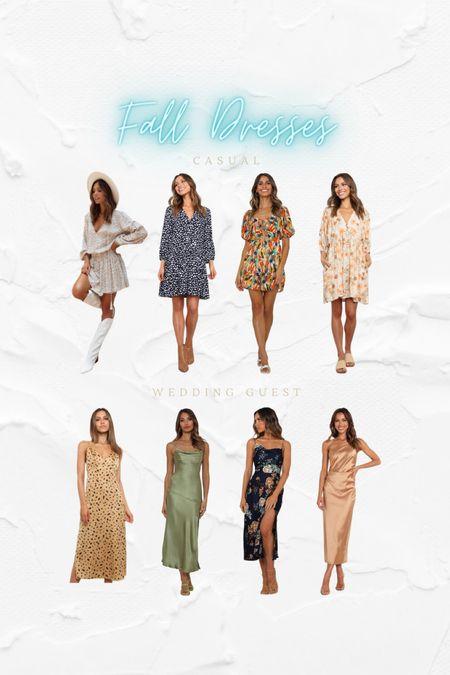 FALL DRESSES IM LOVING 💛  #LTKstyletip #LTKunder100 #LTKSeasonal