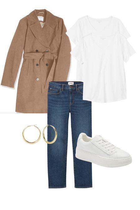 Best classic for the money @amazonfashion #amazonfashion #sneakers #trenchcoat #rufflesleevetop #jeans #trendingjeans #falllook   #LTKtravel #LTKunder50 #LTKunder100