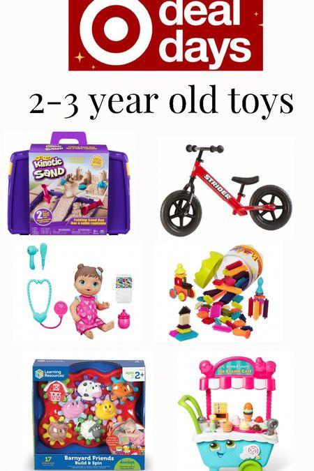 Target deal days toys for 2-3 year olds.   #LTKkids #LTKsalealert #LTKGiftGuide