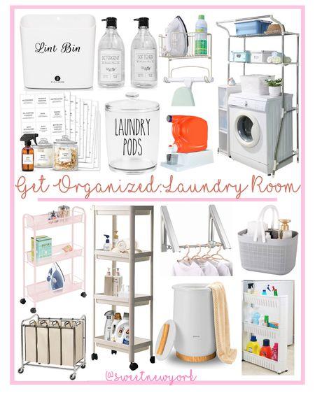 Laundry room storage and organization http://liketk.it/3g60M #liketkit @liketoknow.it #LTKhome #LTKfamily #LTKstyletip