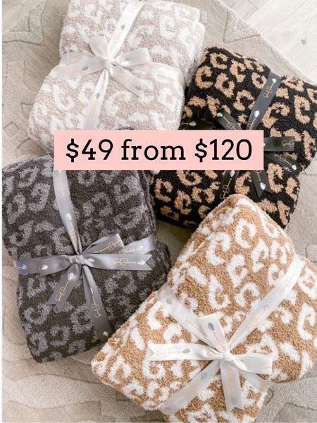 Leopard throw blanket on sale. Gift guide. The styled Collection   #LTKsalealert #LTKunder50 #LTKGiftGuide