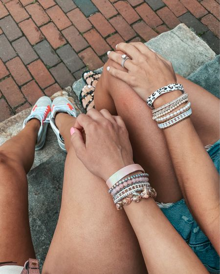 Buy any item & get a bracelet free! This weekend only 🙂 Kristin & I are wearing one of our favorites. http://liketk.it/3dasp #liketkit @liketoknow.it