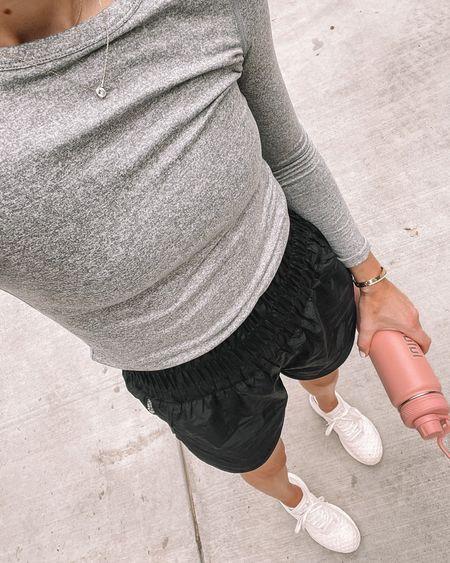 Fitness favorites from the #nsale. Top runs slightly large - wearing xxs. #nordstromanniversarysale #nordstromsale #workout #activewear #nordstrom  #LTKunder50 #LTKsalealert #LTKunder100