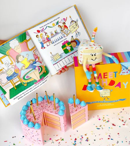 Meet birthday! 📚🎂🎉  You guys - this is the gift that every child needs for his or her birthday! For $25, you get a book + plush toy nested inside one easy to gift box.   It's a magical story of where birthdays comes from. Think of it as elf on a shelf but for birthdays.   You can preorder it today! I had a chance to preview it - and trust me you don't want to miss out on this! Order for your kids and as kids birthday gifts!     #LTKkids #LTKunder50 #LTKfamily