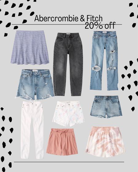 LTK Day Sale. Jeans. Skirts. Denim shorts cut offs   #LTKsalealert #LTKstyletip #LTKDay