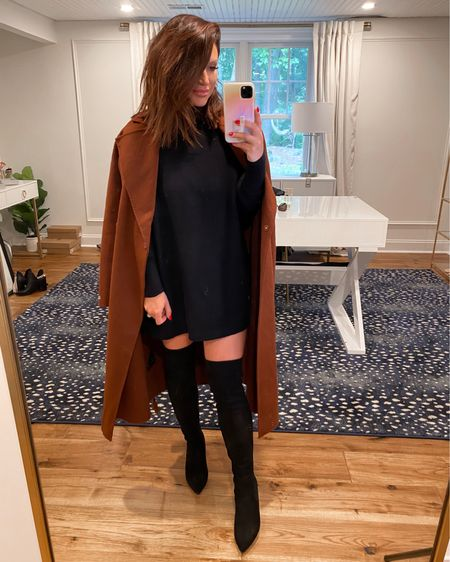 Wool coat - small Over the knee suede boots TTS .. Nordstrom anniversary sale, wool coat, otk boots, fall fashion, nsale   @liketoknow.it http://liketk.it/3jKxd #liketkit #LTKstyletip #LTKsalealert #LTKshoecrush