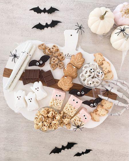 Halloween dessert candy board 👻🕷   etu home, Target, charcuterie board, pottery barn, fancy things blog  #LTKSeasonal #LTKunder100 #LTKunder50