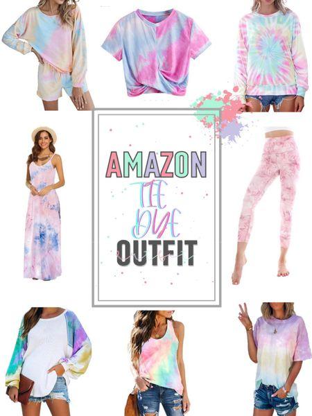Amazon Fashion Finds | Amazon Prime | Amazon Tie Dye | Tie Dye Set | Tie Dye Dress | Amazon Finds | Tie Dye Leggings | Amazon Leggings | Amazon Clothing @liketoknow.it #liketkit http://liketk.it/2UvSS