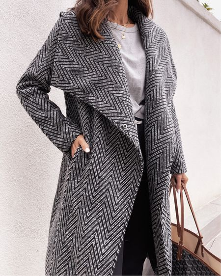 Drop off style, express coat, comfy casual, joggers, StylinByAylin   #LTKstyletip #LTKunder100