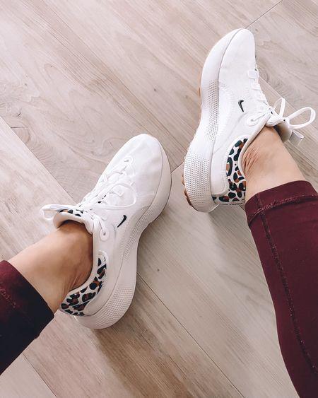 Nordstrom Anniversary Sale  Nike sneakers workout running white leopard print - size 6 / size up    #LTKunder100 #LTKsalealert #LTKshoecrush