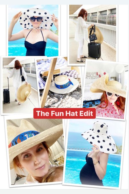 Rounding up all of my hat picks perfect for a day at the pool, beach, farm, or outside. Linking a bunch of hats below. #LTKstyletip #liketkit @liketoknow.it http://liketk.it/2TK1w