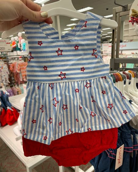 Baby clothes 20% off at #Target.  Perfect time to buy their 4th of July outfit!! http://liketk.it/3hFYT  #liketkit @liketoknow.it #LTKbaby #LTKbump #LTKsalealert @liketoknow.it.family @liketoknow.it.brasil @liketoknow.it.europe @liketoknow.it.home Shop your screenshot of this pic with the LIKEtoKNOW.it shopping app