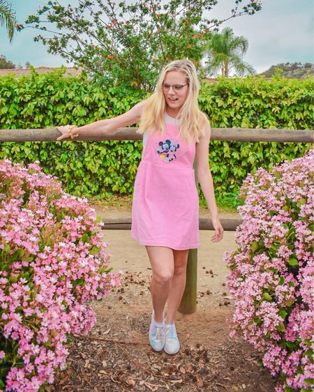 News flash: We wear pink on more than just Thursdays 😉🌸💕 I love a subtle Disney style and I love even more that I can wear this piece that I got for Valentine's Day for Spring as well! #disney #mickeymouse #minniemouse #spring #pink #disneystyle #heruniverse #hottopic #LTKstyletip #LTKsalealert #LTKunder50 #liketkit @liketoknow.it http://liketk.it/3ec72