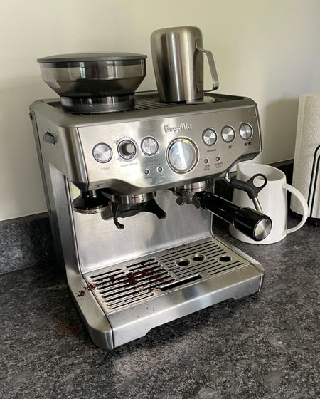 It's so nice to try things out that your friends have so you know before you buy. Let me be your friend here: this espresso maker makes great coffee and basically does all the work for you! Tried this out at my friend Katie's every morning on a recent girls trip to Texas. Quality. ☕️      #LTKhome
