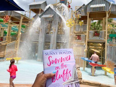 New book 📖 read, Summer on the Bluffs by Sunny Hostin. #SummerReading #Reading #Summer #Poolside #Travel @target  #LTKswim #LTKfamily #LTKtravel