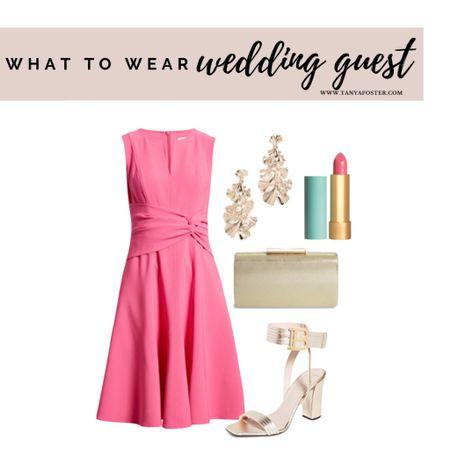 Love this pink dress for summer events or weddings!    #LTKshoecrush #LTKstyletip #LTKwedding
