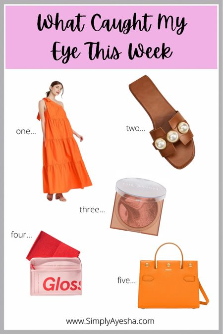 5 Items That Caught My Eye This Week!  I came across a really nice mix of affordable and luxury items this week!   #LTKitbag #LTKshoecrush #LTKunder50 Shop your screenshot of this pic with the LIKEtoKNOW.it shopping app http://liketk.it/3gXhG #liketkit @liketoknow.it