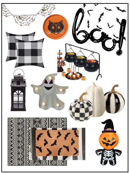 Halloween decor          Halloween / halloween decor / halloween decorations / home decor / fall decor / target style / amazon home / amazon finds / etsy / walmart finds #ltkseasonal doormat / front porch / pillow covers   #LTKunder50 #LTKSeasonal #LTKhome