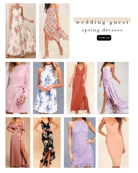 Rounding up some wedding guest spring dresses for all of the Spring and summer celebrations! #LTKwedding http://liketk.it/3eq4i #liketkit @liketoknow.it